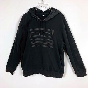 Jordan Black Hoodie Sweatshirt XL